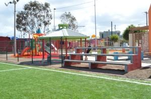 El parque está acondicionado únicamente para menores de 12 años y mujeres