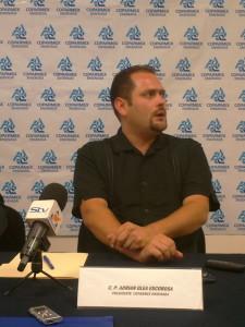 Adrián Olea Escobosa, Presidente de Coparmex