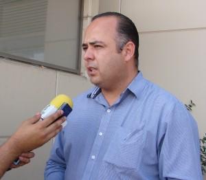 Ricardo Medina Fierro, secretario general estatal Sindicato de trabajadores del Estado