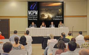 Con 150 participantes se inauguró la Reunión Mexicana de Óptica y Fotónica
