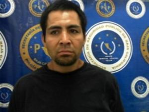 Daniel Alberto Amador López, de 33 años de edad uno de los detenidos