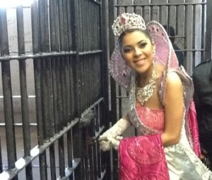 corte real liberando detenidos del carnaval por faltas administrativas