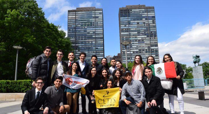 Líderes universitarios de BC son recibidos en la ONU | RadaNoticias