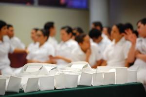 33 estudiantes de Enfermería iniciaron sus prácticas.