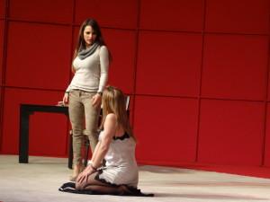 La obra de teatro se presentó con gran éxito en la ciudad