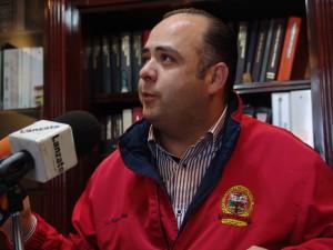 Ricardo Medina Fierro, líder Sindicato de Burócratas
