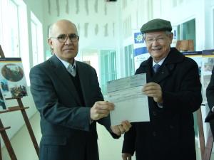 Recibe patronato donativo por parte de Energía Costa Azul