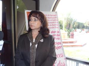 Regidora Carmen Íñiguez Casanova