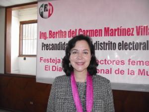 Busca la precandidatura para Distrito XV por el PRI.