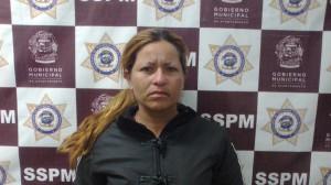 Los oficiales la intervinieron por actuar sospechosamente