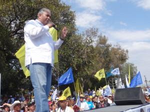 """Resaltó su asistencia como ciudadano para apoyar a Kiko Vega y los demás candidatos de la alianza """"Unidos por Baja California"""""""
