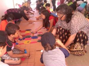 Los 53 niños que participaron disfrutaron de la ciencia durante un mes.