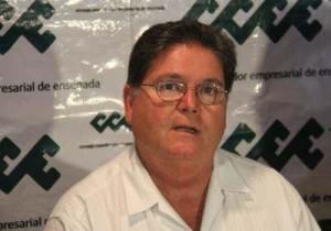 Delegado de la SCT de Baja California, Alfonso Padrés Pesqueira.