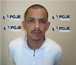 Antonio Beltrán Ríos alias el pulga de 28 años consignado por robo con violencia