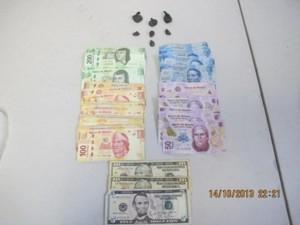 Se evitó la venta de mil 125 dosis de enervante sintético valuado aproximadamente en 56 mil 250 pesos.