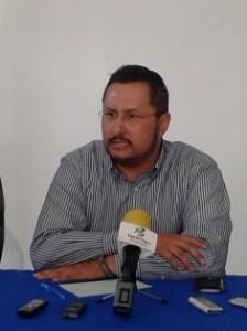 Presidente del Comité Directivo Estatal, José Luis Ovando Patrón