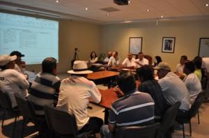 Mesas de trabajo entre API Y sector pesquero