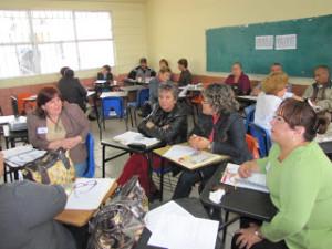 docentes capacitandose