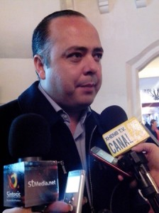 Ricardo Medina Fierro, Secretario General Sindicato Burócratas