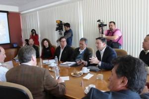 Sostuvieron reunión representantes de SCT, CAPUFE y Gobierno Estatal